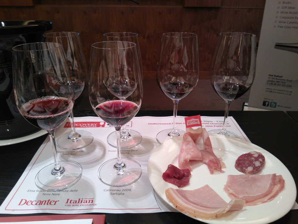 Decanter Undiscovered Reds Tasting